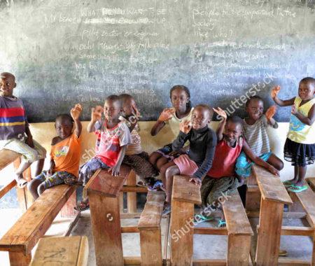 Educação das crianças órfãs